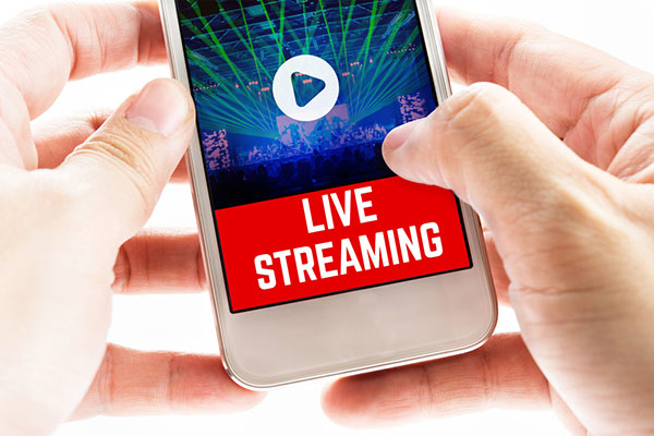 live streaming as the next big thing