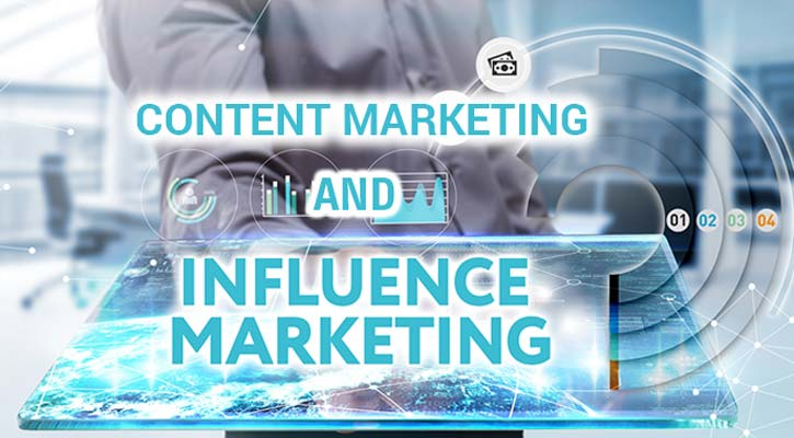 influencer and content marketing