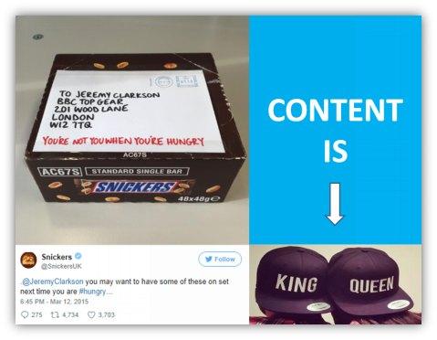 Content is King/Queen