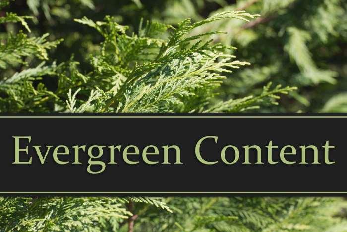 Generate Evergreen Content