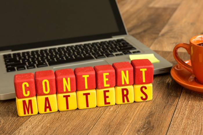 Irregular posting of unengaging content